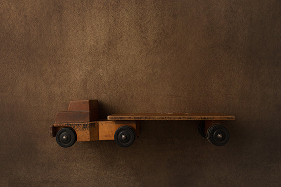 Digital Backdrop Oh Boy Coll Wooden Truck