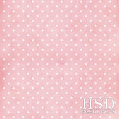 Photography Backdrop | Pink Polka-Dots