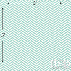 Photography Backdrop | Teal Vintage Chevron