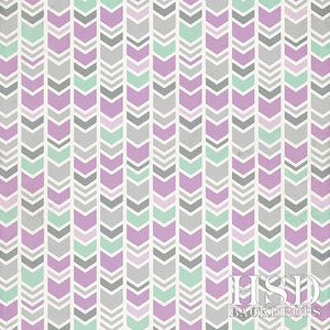 Mint & Lavender Arrows photography backdrop & background