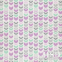 Photography Backdrop Background | Mint & Lavender Arrows