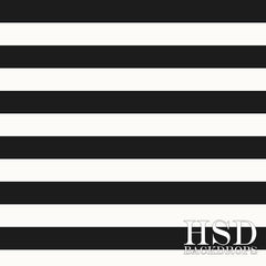 Photography Backdrop Background | Black & White Stripes