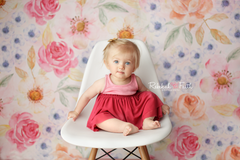 Floral Photography Backdrop Background | Liliana