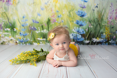 Spring Photography Backdrop Background | Skyview