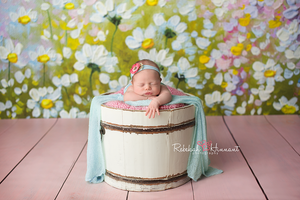 Wildflower photography backdrop & background