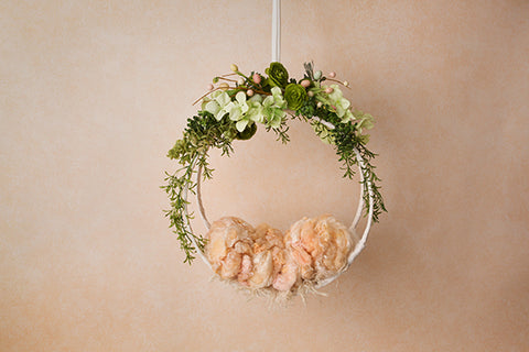 Digital Backdrop | Peach Blossom