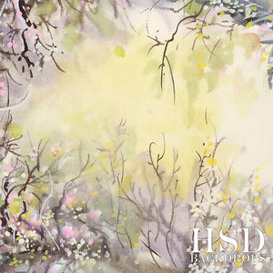 Spring Meadow photography backdrop & background