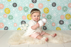 Christmas Photography Backdrop Background | Snowball