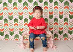 Christmas Photography Backdrop Background | Very Merry