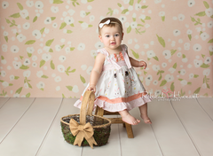 Floral Photography Backdrop | Allie