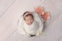 Wood Photography Backdrop | Powder Pink
