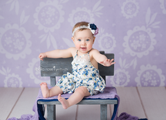 Spring Photography Backdrop | Ellie Floral