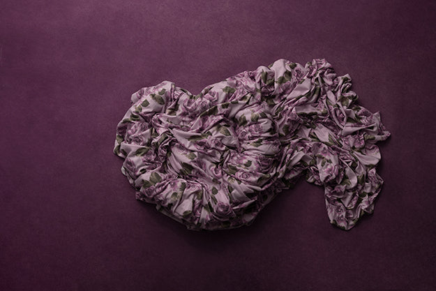 Newborn Digital Backdrop | Purple Rose Medley photography backdrop & background