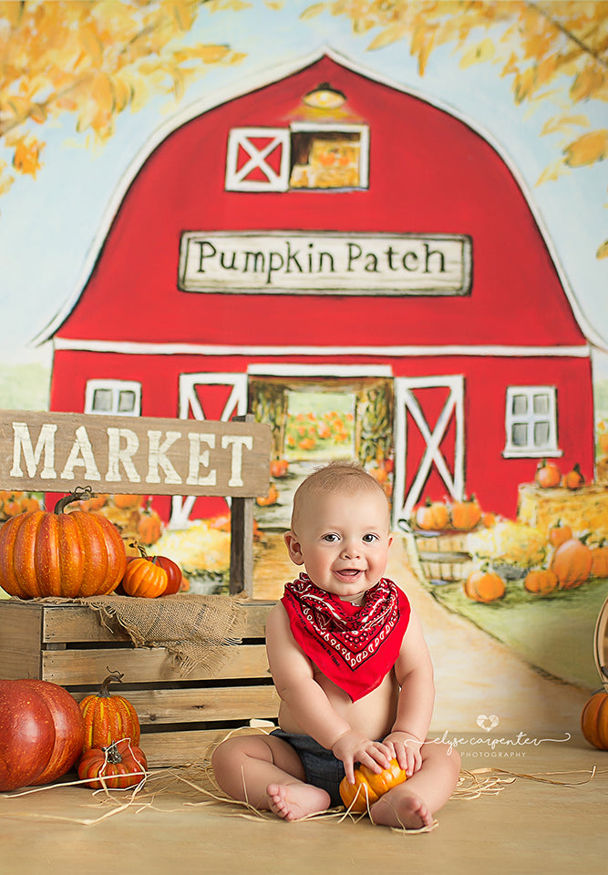 Farmstead photography backdrop & background