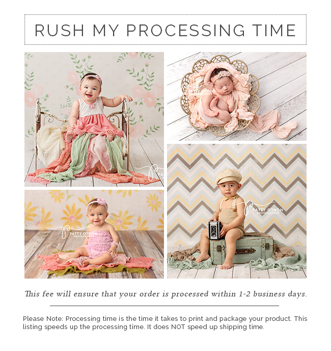 Rush My Processing Time - HSD Photography Backdrops