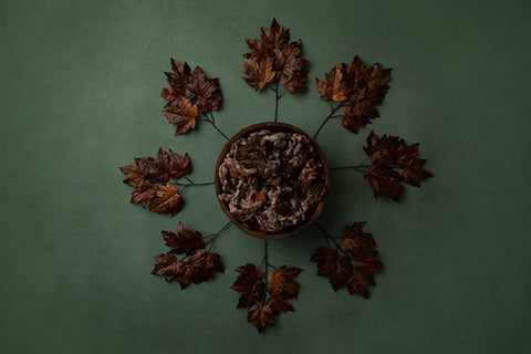 Digital Backdrop | Autumn Leaves Coll. | Rusty Autumn