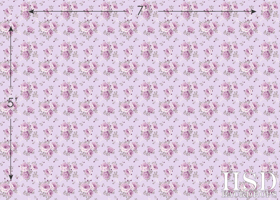 Malia Floral - HSD Photography Backdrops