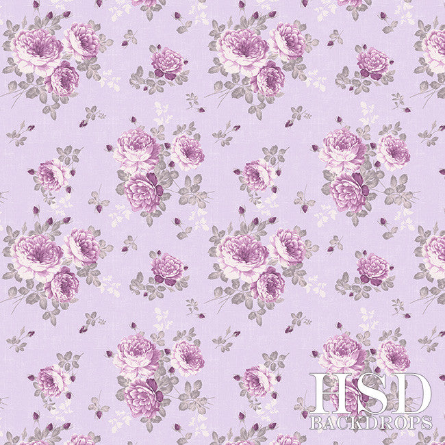 Malia Floral photography backdrop & background