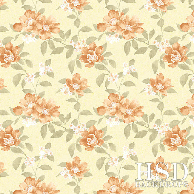 Gemma Floral photography backdrop & background