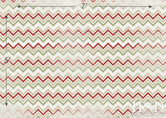 Photography Backdrop | Textured Chevron Red Green