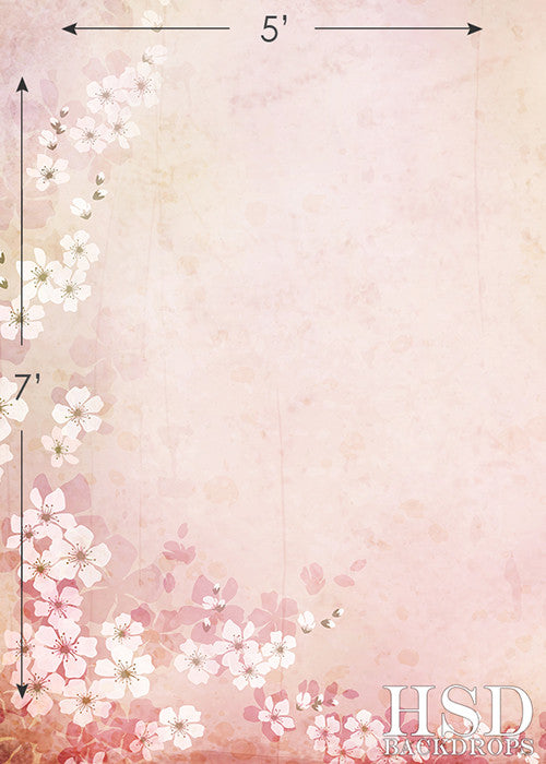 Blossom photography backdrop & background