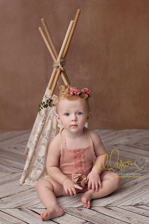 Mocha photography backdrop & background