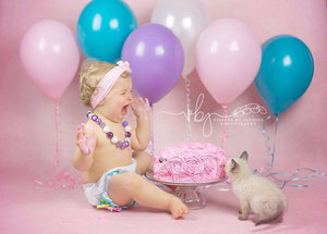 Pretty Pink photography backdrop & background