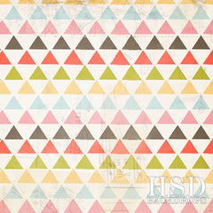 Photography Backdrop Background | Colorful Triangles