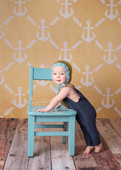 Photography Backdrop | Anchors Yellow