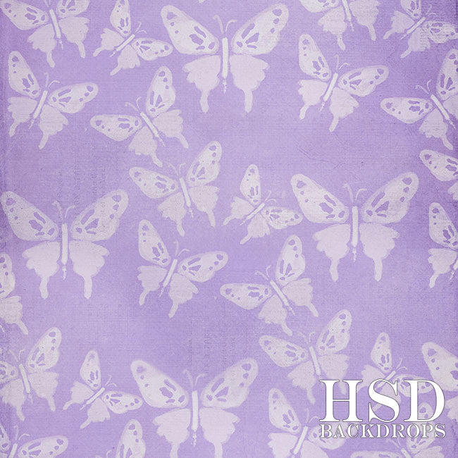 Photography Backdrop | Butterfly Bliss Purple