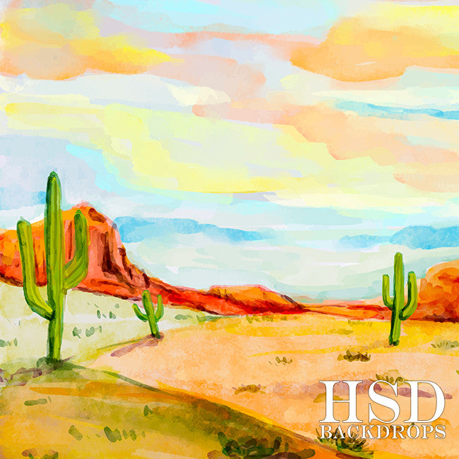 Photography Backdrop Background  | Sonoran Desert