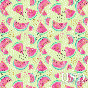 Watermelon (Green) - HSD Photography Backdrops