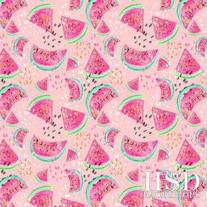Watermelon (Pink) - HSD Photography Backdrops