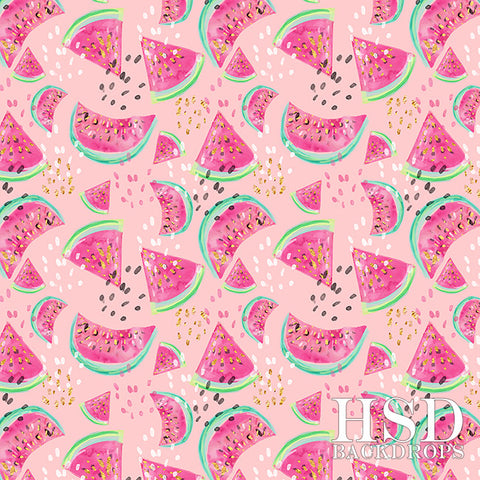 Photography Backdrop Background  | Watermelon (Pink)