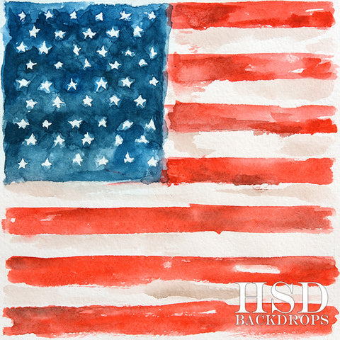 Photography Backdrop Background  | American Flag