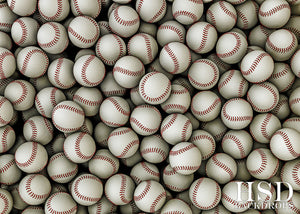 Baseballs photography backdrop & background