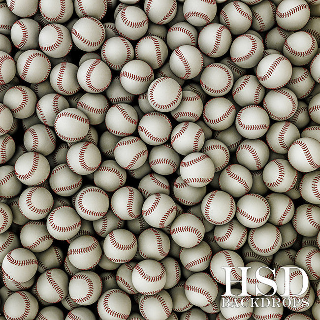 Photography Backdrop Background | Baseballs