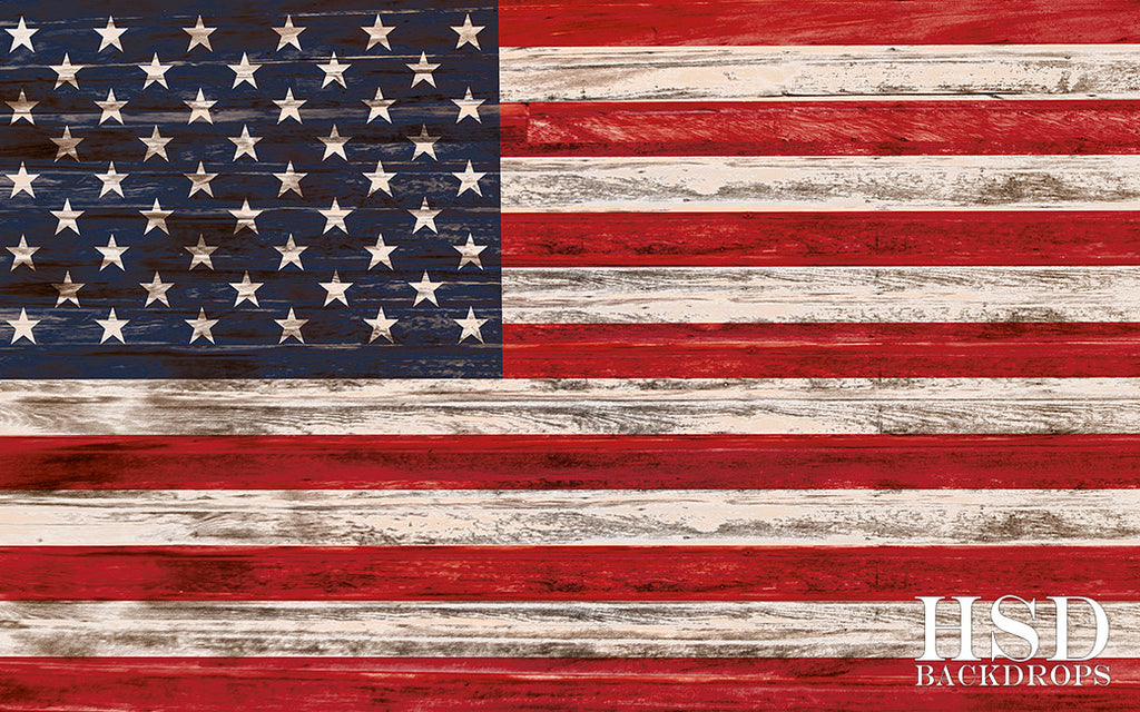 american flag photography backdrop background 4th of july photo