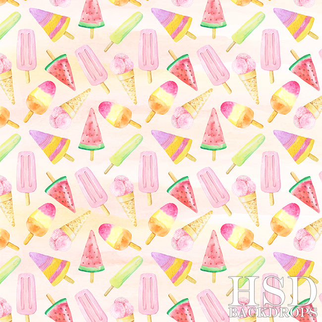 Sweet Ice Cream - HSD Photography Backdrops