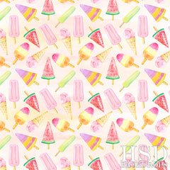 Photography Backdrop Background | Sweet Ice Cream