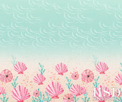 Summer Photography Backdrop Background | Sea Shore