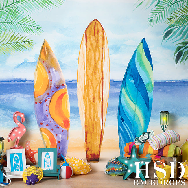 Just Beachy Set Up photography backdrop & background