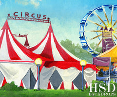 Circus Photography Backdrop Background | Ringmaster