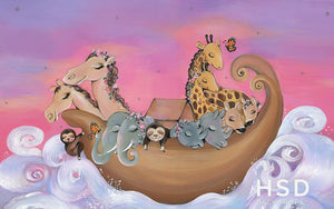 Noah's Ark - HSD Photography Backdrops