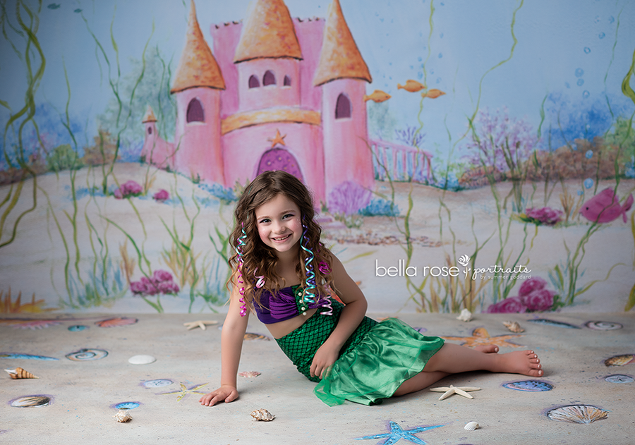 Photography Backdrop Background | Sea Princess