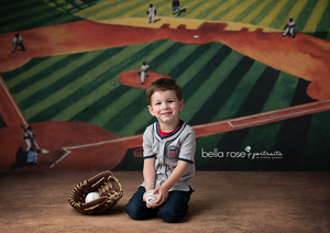 Baseball Ball Game photography backdrop & background