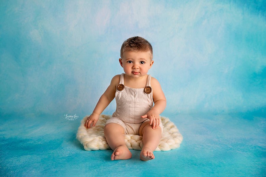 Ocean Blue photography backdrop & background