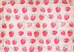 Photography Backdrop Photo Background | Strawberry