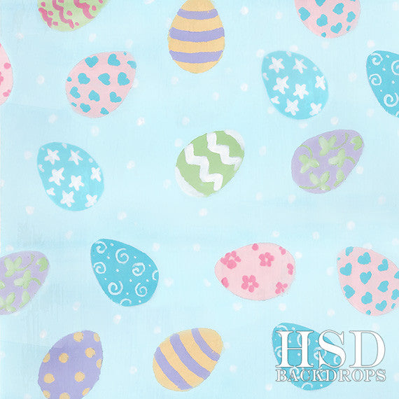 Photography Backdrop Photo Background | Easter Eggs