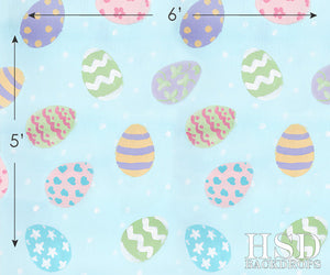 Easter Eggs photography backdrop & background